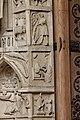 Paris - Cathédrale Notre-Dame - Portail de la Vierge - PA00086250 - 095.jpg