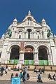 Paris 75018 Basilique du Sacré-Cœur south facade stairs close-up 20160419 (01).jpg