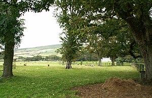 West Berk railway station - Image: Park land at the Whitehouse, Kirk Michael geograph.org.uk 59583