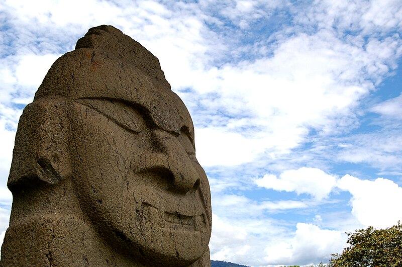 Vaizdas:Parque Arqueológico de San Agustín - Deity 2.jpg
