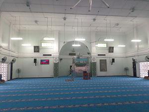 Pasir Gudang Jamek Mosque - Pasir Gudang Jamek Mosque prayer hall