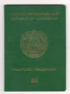 Passport of citizen of Uzbekistan. Cover.JPG