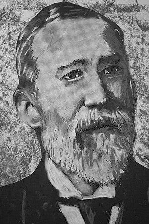 Henry Alleyne Nicholson - Image: Pastel portrait of Henry Alleyne Nicholson by Stephen C Dickson