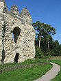 Path around the castle - geograph.org.uk - 988862.jpg