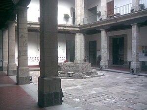 University of the Cloister of Sor Juana - Patio area