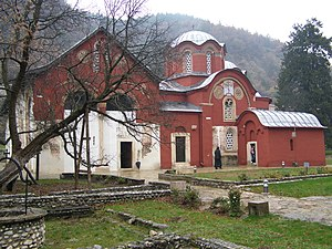Kosovo Serbs - Patriarchate of Peć, the seat of the Serbian Orthodox Church from the 14th century when its status was upgraded into a patriarchate