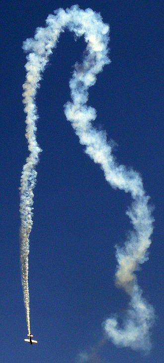 Aerobatics - Patty Wagstaff show at JeffCo Airport in Denver, Colorado