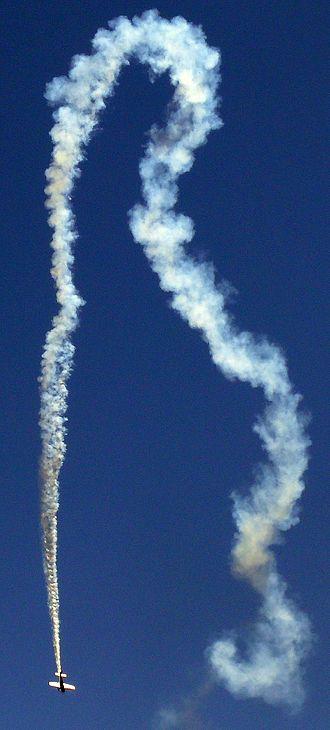 Aerobatics - Patty Wagstaff show at JeffCo Airport in Denver, Colorado