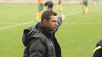 Paul Okon - Image: Paul Okon managing Young Socceroos