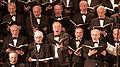 Pauluskirche Ulm Konzert Singende Mitglieder des Oratorienchors 2009 03 22.jpg