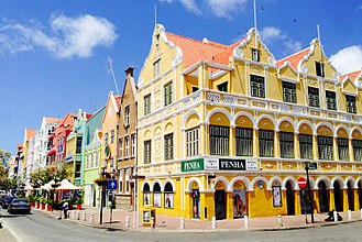 Special member state territories and the European Union - Willemstad, the capital city of Curaçao.