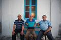 People of Mykonos island (full-length outdoor portrait). Cyclades, Agean Sea, Greece.jpg
