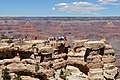 People on the lookout, Grand Canyon (3467672131).jpg