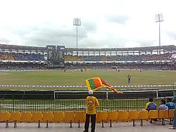 Percy,Beloved Sri Lankan cricket fan