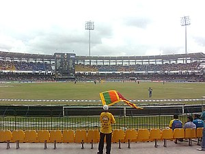 R. Premadasa Stadium - Image: Percy, Beloved Sri Lankan cricket fan