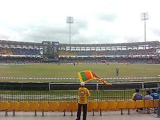 R. Premadasa Stadium - Image: Percy, Beloved Sri Lankan cricket fan