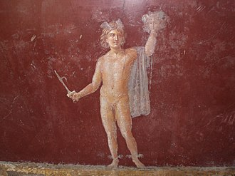 Hero - Perseus and the head of Medusa in a Roman fresco at Stabiae. Unlike medieval and modern heroes, classical heroes did great deeds out of esteem and fame rather than out of any concern for the good of people