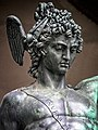 Perseus with the head of Medusa by Benvenuto Cellini, 1545, at the Loggia dei Lanzi in Florence Italy MH.jpg