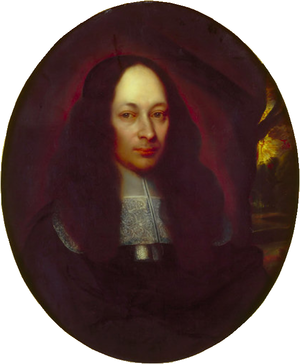 Peter Blundell - Portrait of Peter Blundell, property of Blundell's School