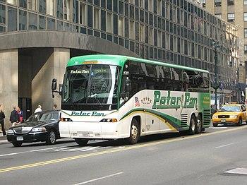 Peter Pan Bus Lines MCI J4500 751 in New York,...