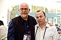 Peter Gabriel and Andrew Blau.jpg