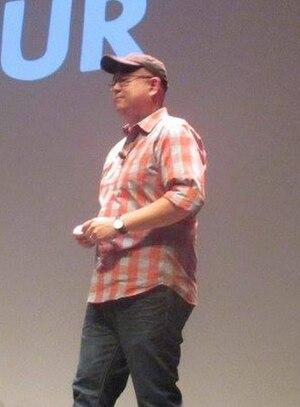 Peter Sohn - Sohn at the 2015 Annecy International Animated Film Festival