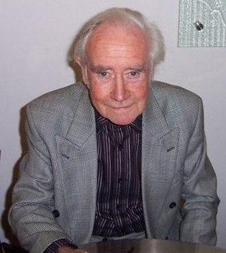 Peter Tuddenham - Peter Tuddenham at the launch of the Blake's 7 second series DVD, 2005.