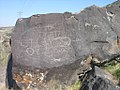 Petroglyphs at Map Rock near Marsing Idaho 7.jpg