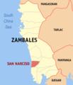 Ph locator zambales san narciso.png