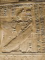 Philae Temple Egypt Goddess Isis As Angel Mural Artwork 2004-10-11.jpg