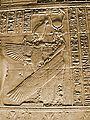Philae Temple Egypt Goddess Isis As Angel Mural Artwork 2004-10-11.jpg