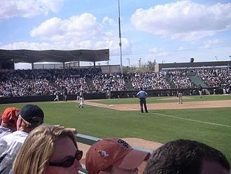 Phoenix Municipal Stadium - Phoenix Municipal Stadium during spring training, 2005