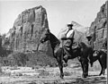 Photograph of President Warren G. Harding at Zion National Park - DPLA - 16e3daad180928032d7577a9753638a9.jpg