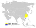 Phylloscopus goodsoni distribution map.png