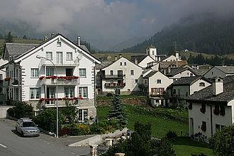Simplon, Valais - Image: Picswiss VS 80 04