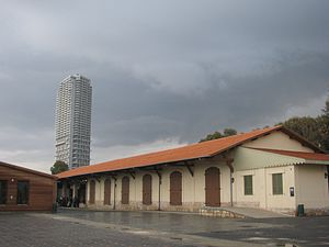 Neve Tzedek Tower - Image: Piki Wiki Israel 11807 Station Compound Tel Aviv Jaffa