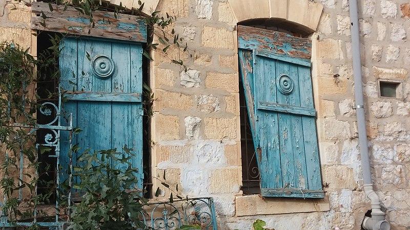 חלונות בצפת