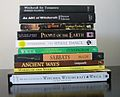 Pile of books about Wicca.JPG