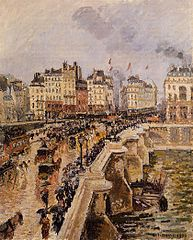 The Pont-Neuf, Rainy Afternoon (First Series)