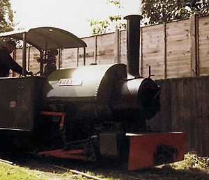 Cadeby Light Railway - Pixie at Cadeby in 1981