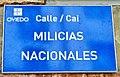 Placa de la calle Milicias Nacionales.jpg
