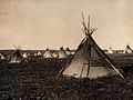 Plains Indian tipi, North America. Wellcome V0038483.jpg