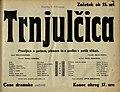 Plakat za predstavo Trnjulčica v Narodnem gledališču v Mariboru 4. februarja 1934.jpg