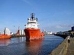 Platform Supply Vessel E.R. Arendal on the River Yare.jpg