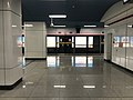 Platform of Gaowang Station from train of Hefei Metro Line 1.jpg