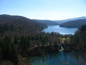 Plitvice Lakes, Proscansko jezero