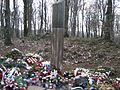 Plitvice Lakes incident, memorial, of the first killed croatian policemen.JPG