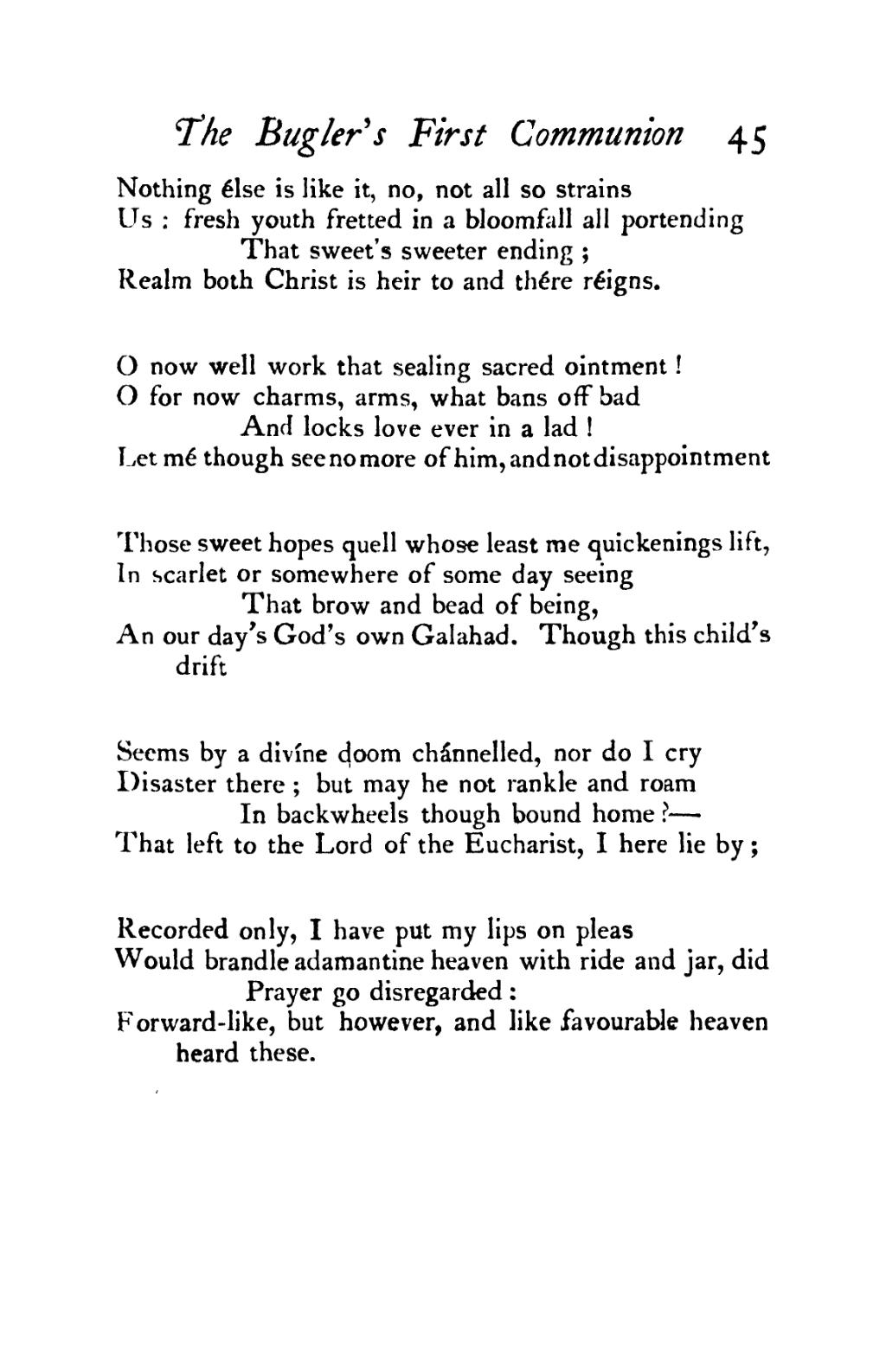 Pagepoems Of Gerard Manley Hopkins 1918djvu61 Wikisource The