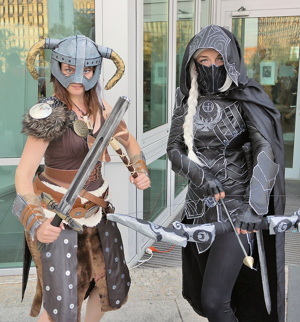 file:polcon 2015 skyrim cosplay - wikimedia commons