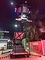 Police watchtower next to Quinta Avenida in Playa del Carmen (42878048734).jpg